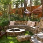 Round firepit design for outdoor living and gathering space ideas Part 2