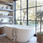 Small standing tubs powerful to make up small bathroom looks Part 12