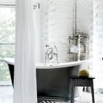 Small standing tubs powerful to make up small bathroom looks Part 28