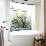 Small standing tubs powerful to make up small bathroom looks Part 3