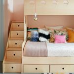 Wooden Storage Bunk Bed Frame Designs That Effective to give ashared space some efficient organizations Part 14