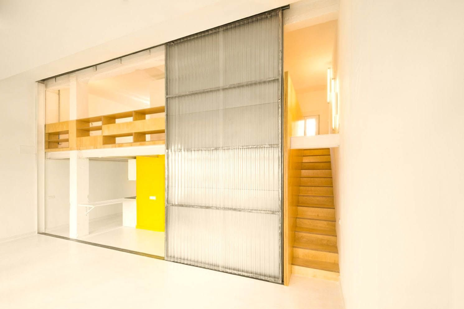 Smart color selection to give bright and spacious tone into a lively visual in Multiplying Architectures II Loft renovation (7)