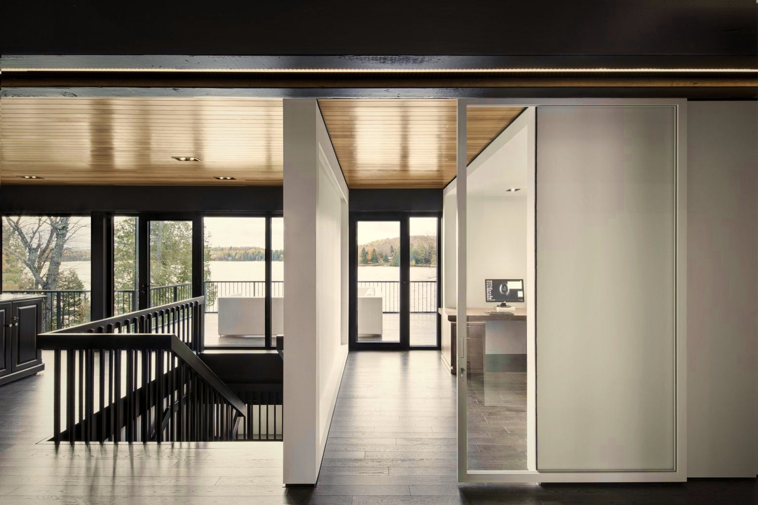 Glass windows and doors enhancing bright vibes in luxury interior design (2)