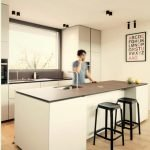Warm wood display underlining family home style in exclusive bright color scheme (4)