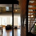 Cozy home design with wood rich interior elements constructing high complexity that enhance the house value and style (1)