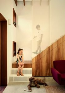 Delightful interior concept embracing eco friendly home design that combines modernity with earthy colors and texture (1)