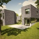 Distinctive house complex with brilliant architecture concept accommodating five family houses (4)
