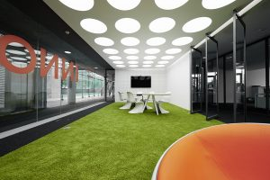 Fashionable modern office style with multiple design characters for different work zones (3)