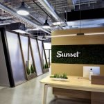Industrial office design of Sunset Magazine set for productivity and style (1)